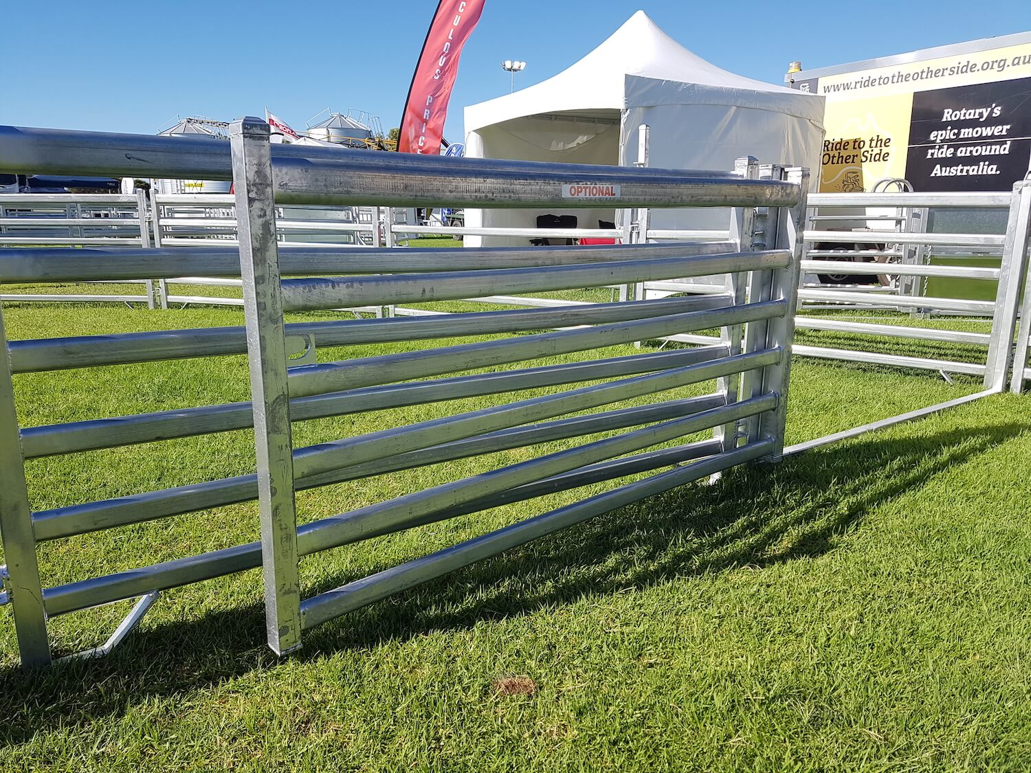 Midland Stockyards Double Fold Gate